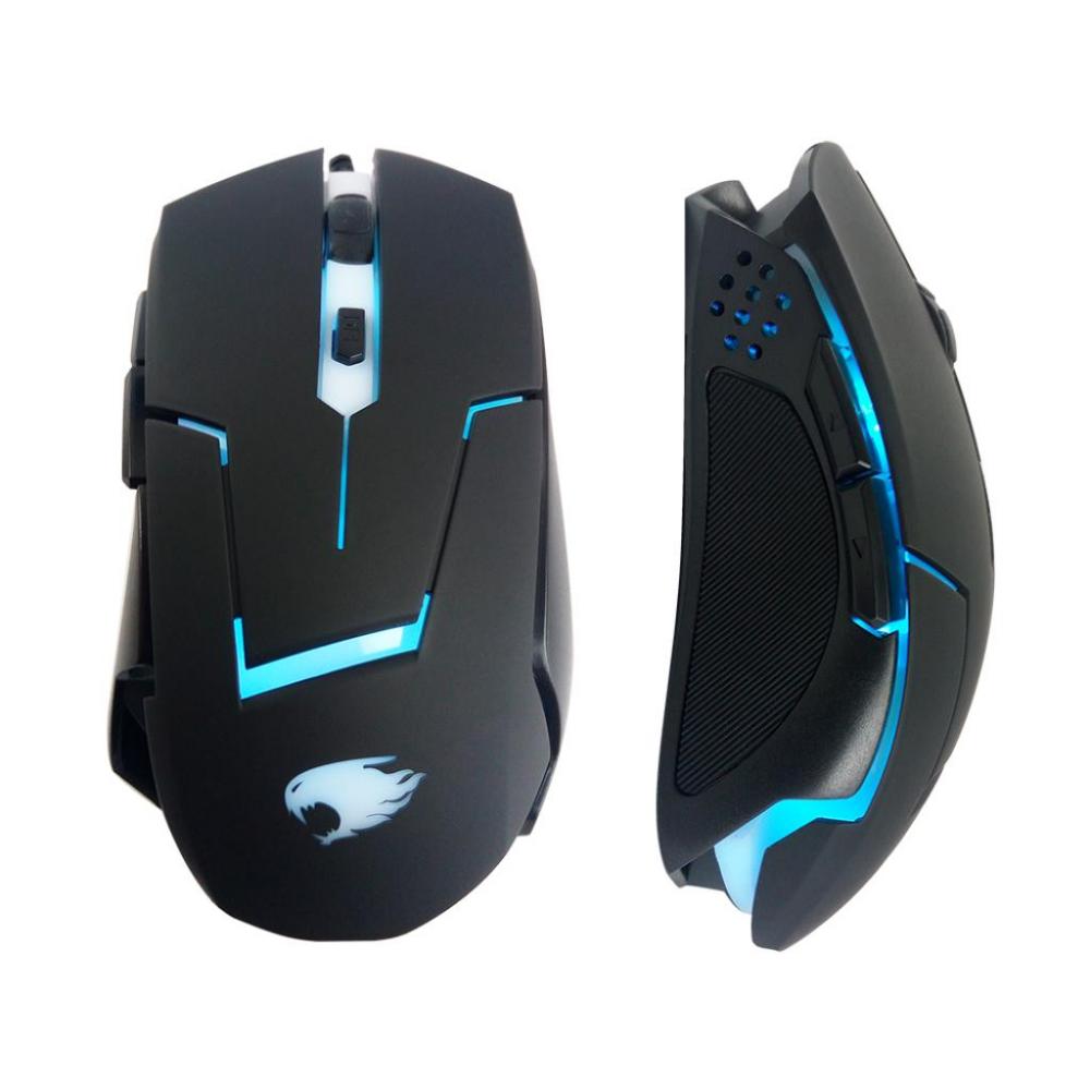 Mouse Gamer G-FIRE  MOG013LGLB 6 botões com  DPI ajustável