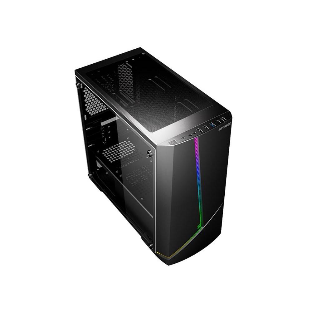 Pc Gamer Completo G-Fire Htg-634 AMD Ryzen 5 4.2Ghz 8Gb (Radeon Rx Vega 2Gb) SSD 240Gb Monitor 18