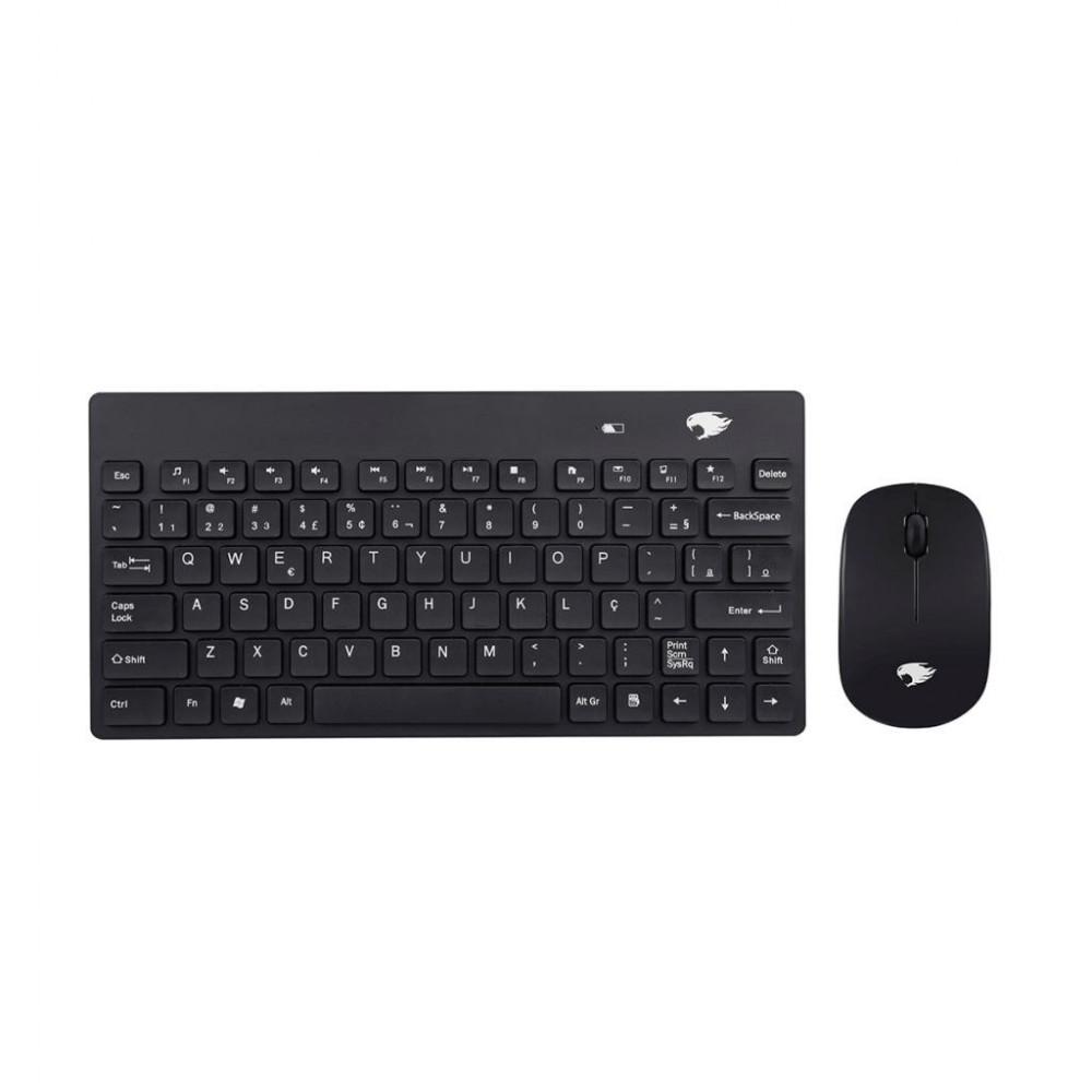 Kit Mini Teclado + Mouse Wireless - KW262091B