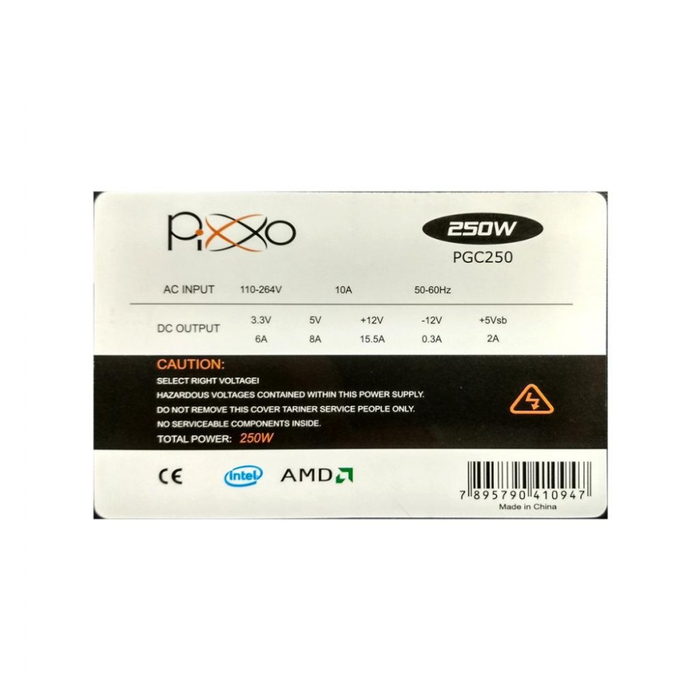 Fonte 250W REAL PGC250