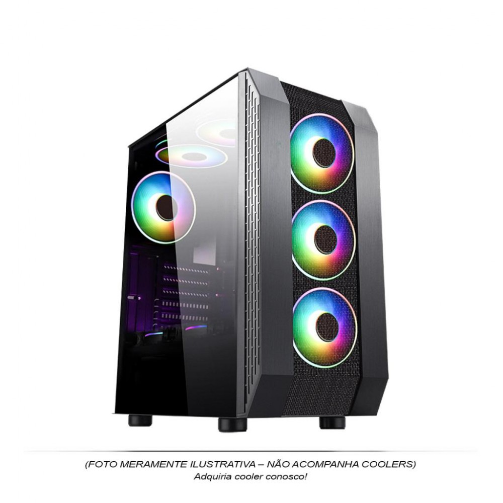Gabinete Gamer RGB Pixxo CG05