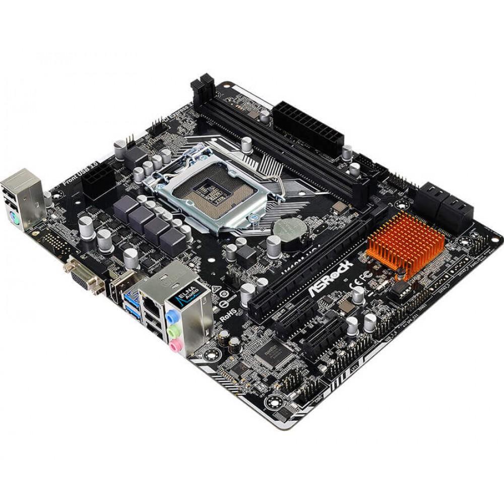 Placa Mãe ASRock H110M-HG4, Intel LGA 1151, mATX, DDR4