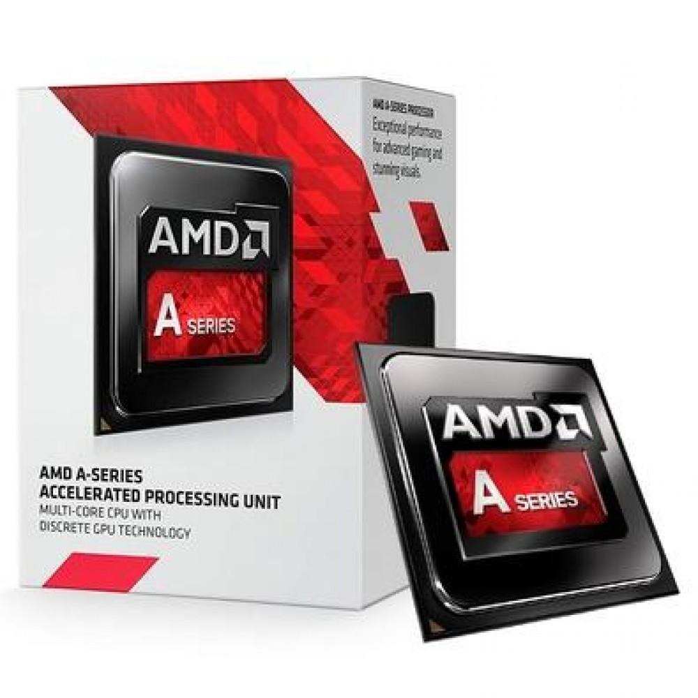Processador AMD A6 7400K , Cache 1MB, 3.5GHz (3.9GHz Max Turbo), FM2+