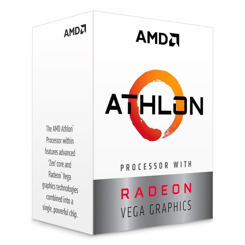 AMD Athlon 3000G Dual Core, Cache 5MB, 3500MHz, AM4 - YD3000C6FHBOX
