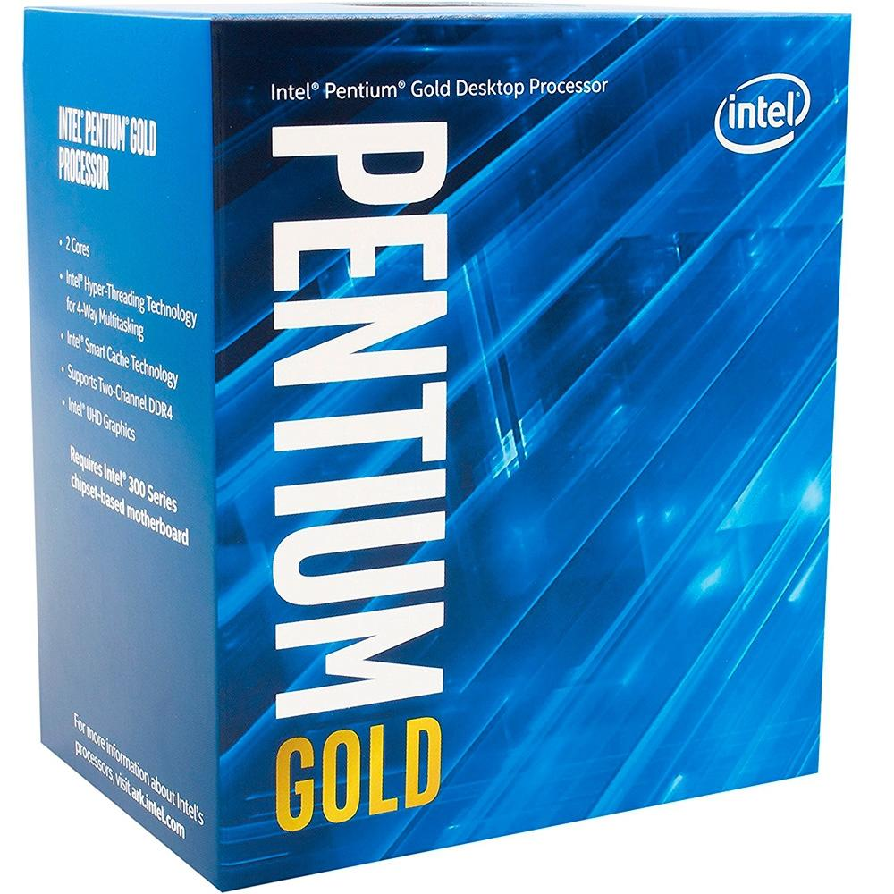 Intel Pentium G5400 Coffee Lake, 8a Geração, Cache 4MB, 3.7Ghz, LGA 1151