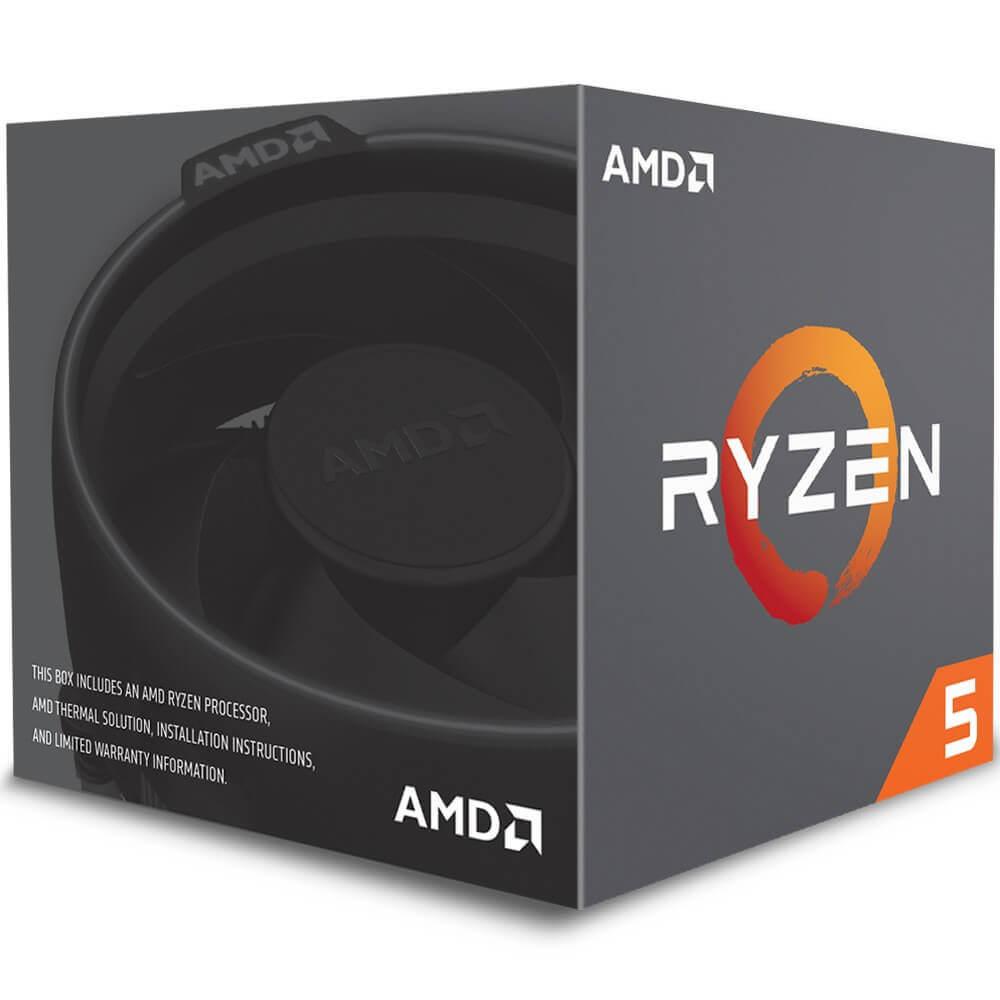AMD Ryzen 5 3600 Cache 32MB 3.6GHz(4.2GHz Max Turbo) AM4, Sem Vídeo - 100-100000031BOX